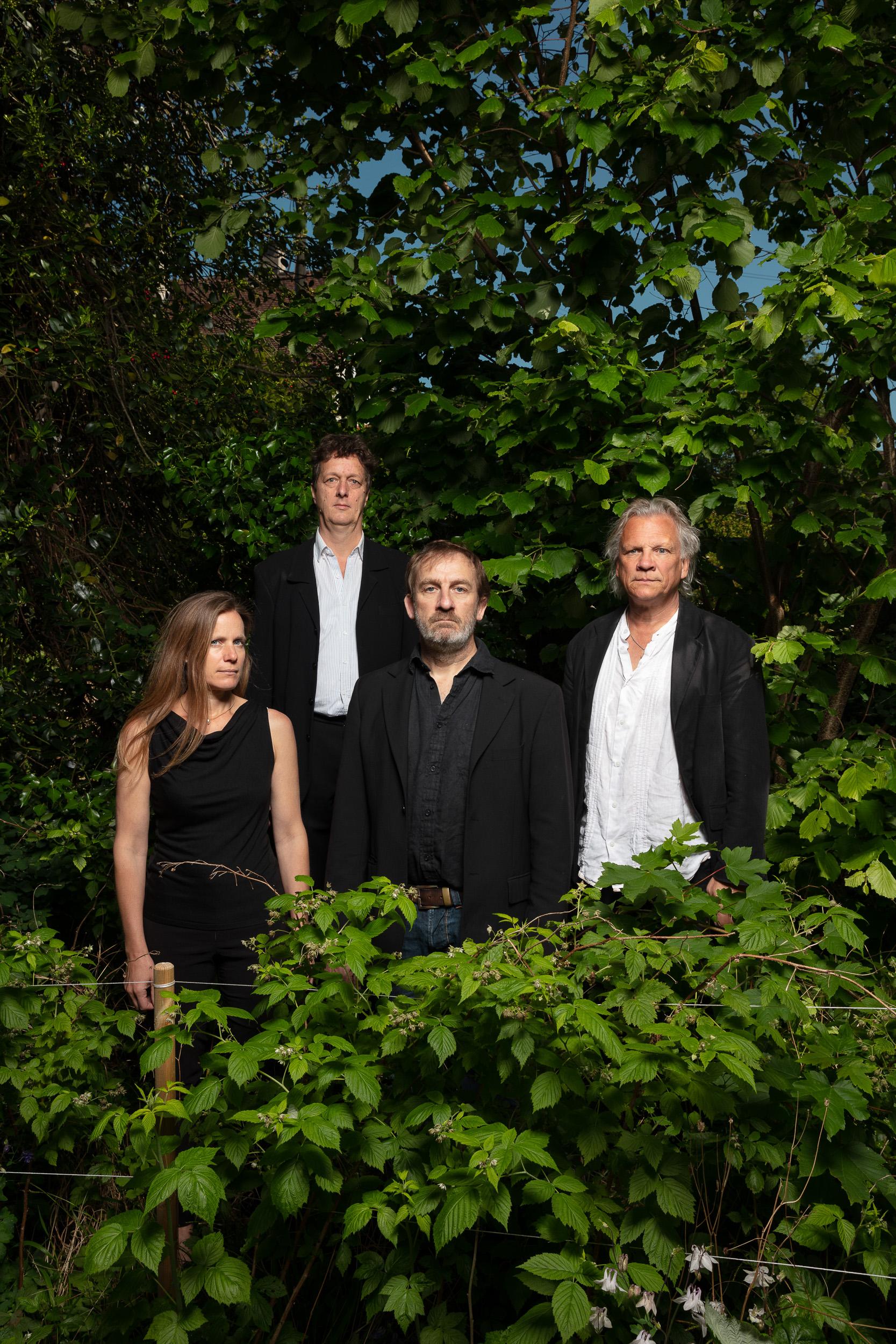 Bürobureau Fotografie Zürich Schaffhausen Glauser Quintett in fremden Gärten